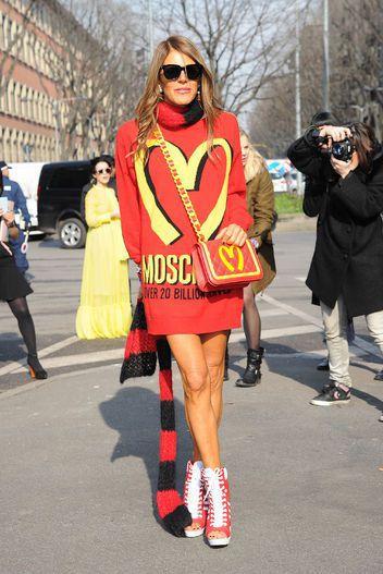 當季最in的有趣包款,Anna dello Russo 幾乎都擁有。圖/擷自ht...