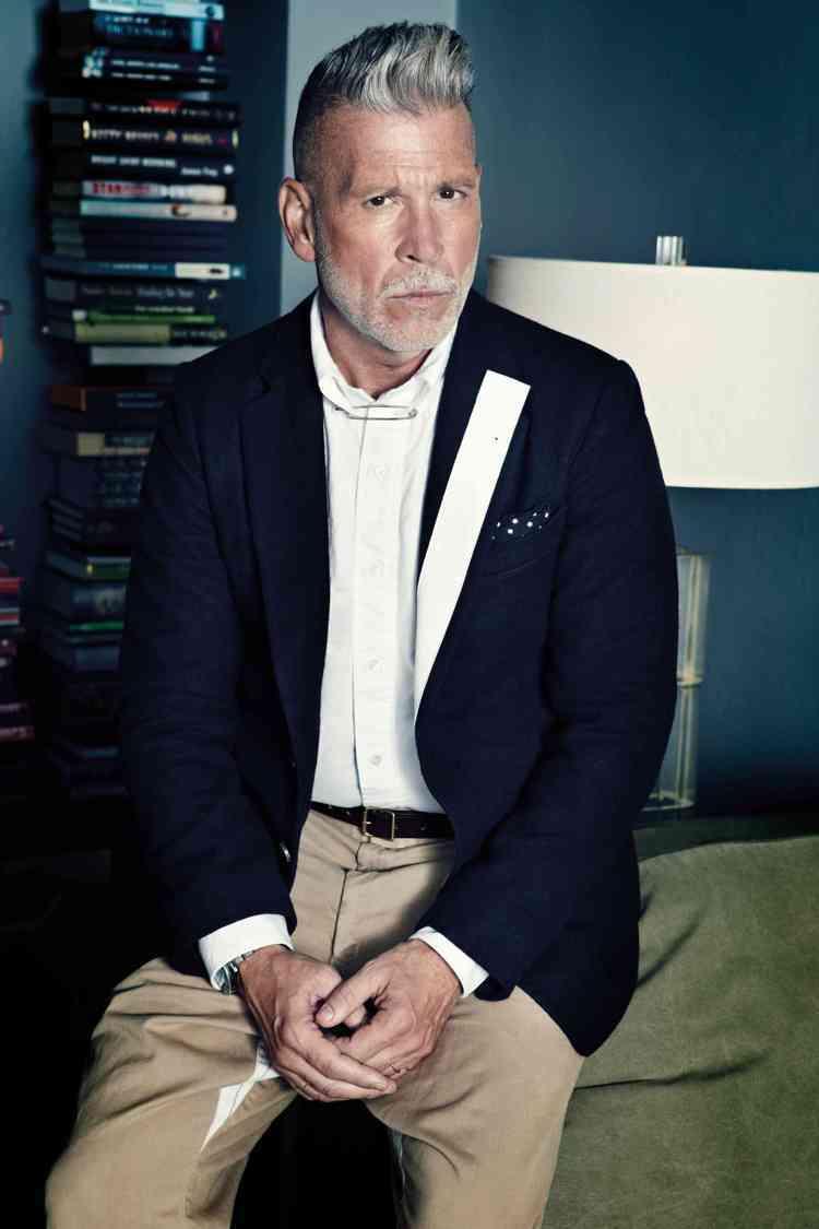 獨家專訪最會穿的大叔Nick Wooster。圖/GQ提供