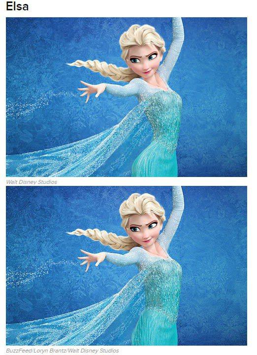 《冰雪奇緣》的艾紗。圖/擷自buzzfeed