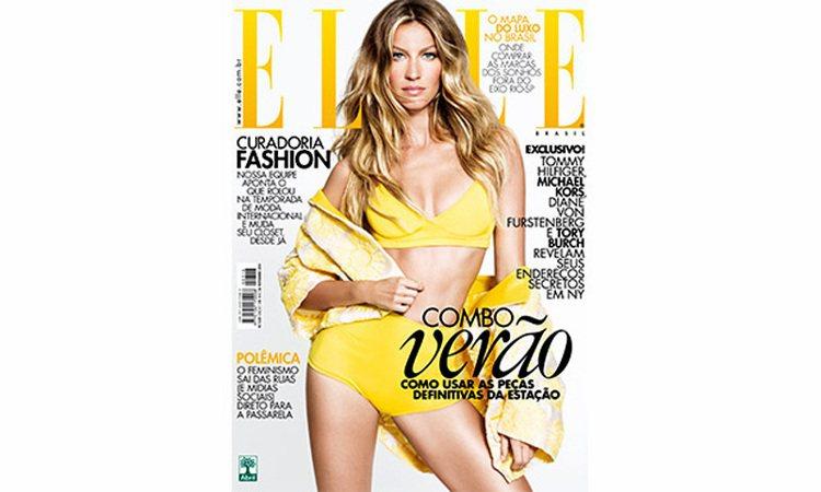 巴西超模代表吉賽兒邦臣,近日登上巴西版 ELLE 雜誌封面,分享了自己的保養之道...