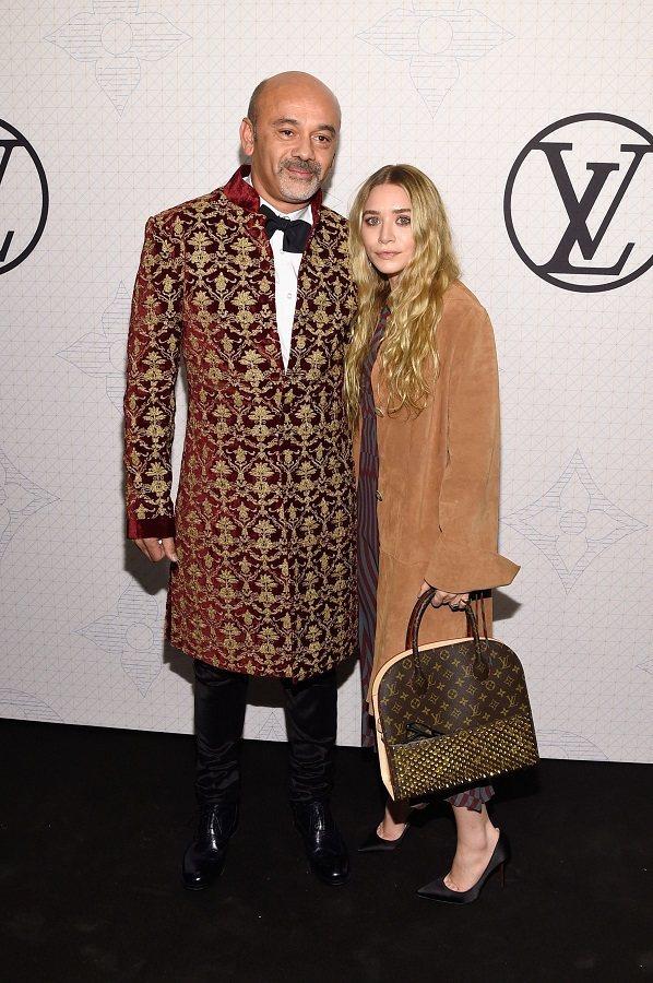 Ashley Olsen 與「紅底鞋之王」Christian Louboutin...