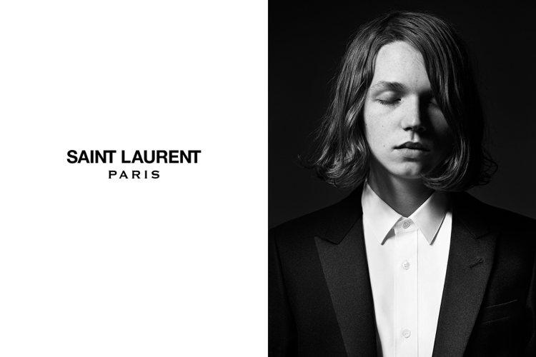 好萊塢男星方基墨的19歲兒子傑克基墨近日入鏡 Saint Lauren 聖羅蘭 ...
