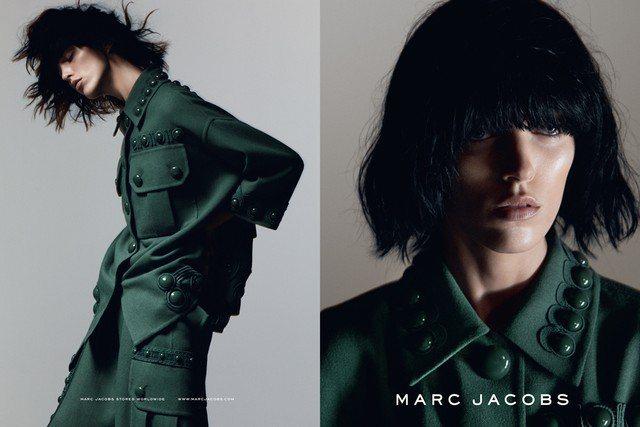 小馬哥Marc Jacobs搶先曝光2015年春夏廣告,由換上黑髮的 Anja ...