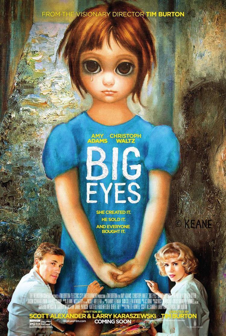 《大眼睛》還未上映就話題不斷,在上週公佈的金球獎入圍名單中,囊括了三項大獎,包含...