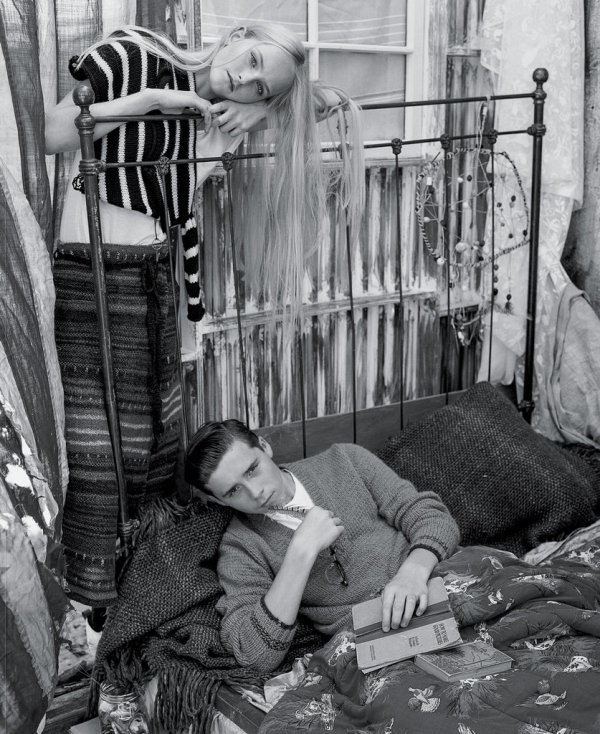 比起第一次拍雜誌時,布魯克林為《New York Times Style》拍的寫...