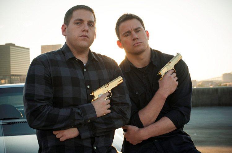 查寧坦圖(右)與喬納希爾(左)在《龍虎少年隊:童顏巨捕》合作無間,戲外關係微妙。...