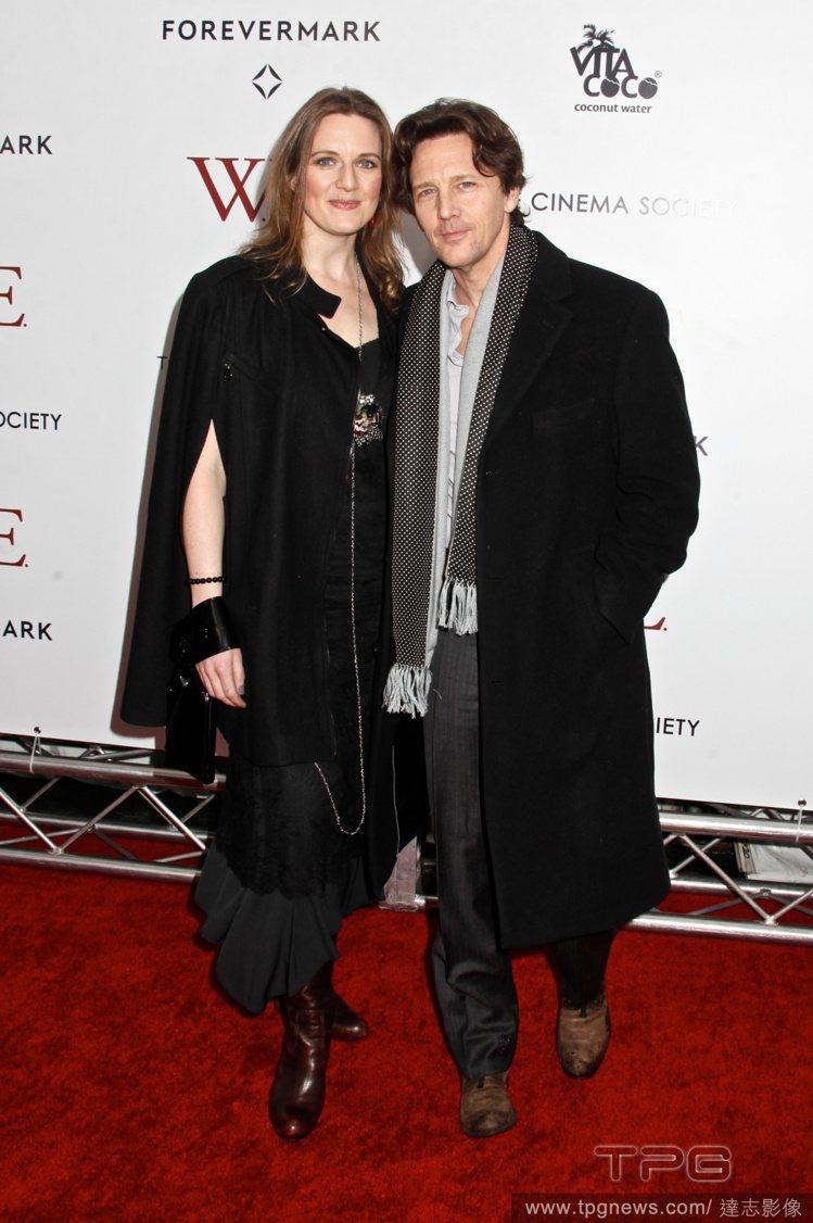 安德魯麥卡錫與妻子Dolores Rice。圖/達志影像