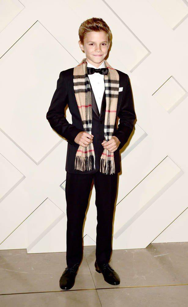 11歲的羅密歐已開始參與時尚活動。圖;文/美麗佳人