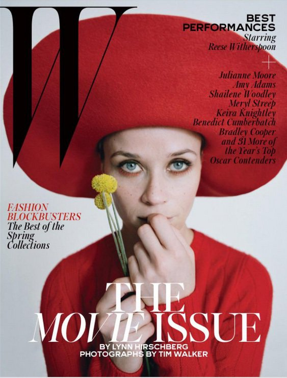瑞絲薇絲朋穿Dolce & Gabbana、 Eric Javits 帽。圖/擷...