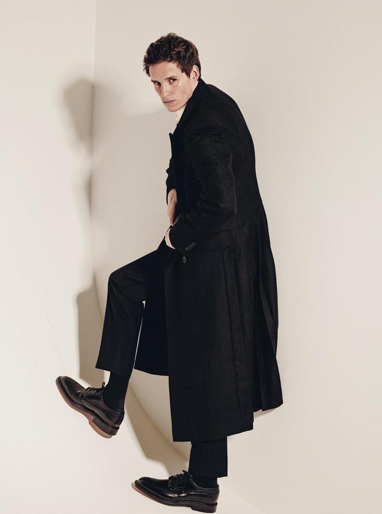 艾迪瑞德曼在2014年登上義大利男性時尚指標 L'UOMO VOGUE 的「年輕...