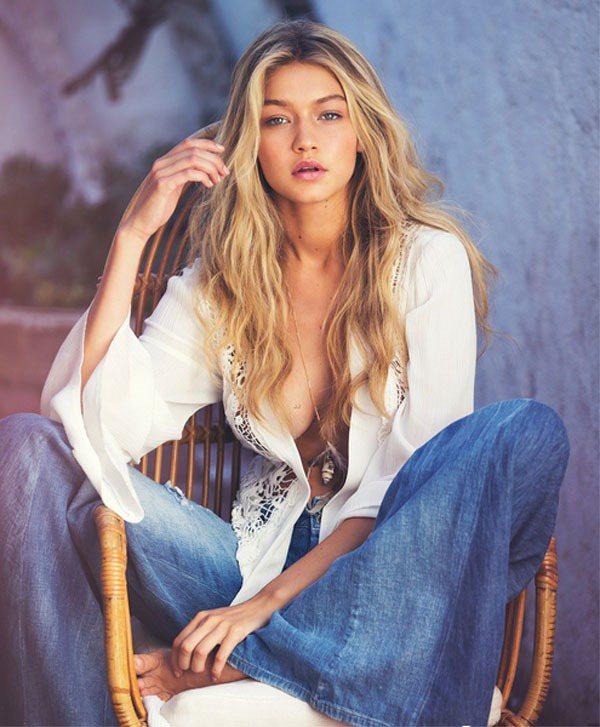 19歲的千金模特兒 Gigi Hadid 再度為 GUESS 入鏡春季廣告,除了...