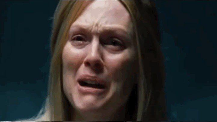 茱莉安摩爾在《自由國度》素顏演出。圖/擷自grolschfilmworks