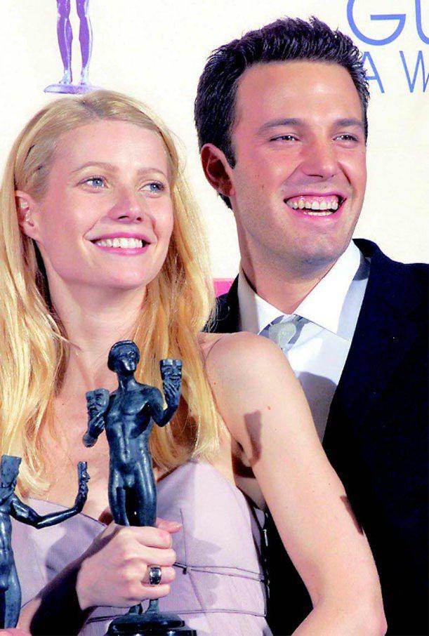 在拍《當真愛來敲門》時,葛妮絲與班艾佛列克也假戲真作。圖/聯合報資料照