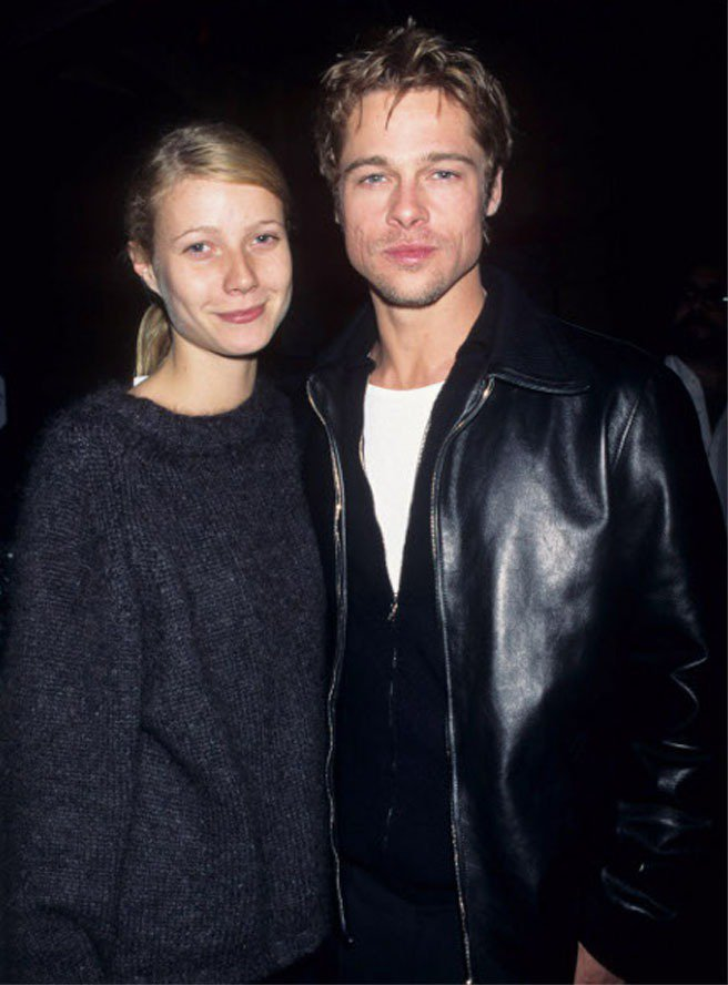 葛妮絲當年和小布一同合拍大衛芬奇的電影《火線追緝令》而陷入熱戀,兩人甚至已訂下婚...