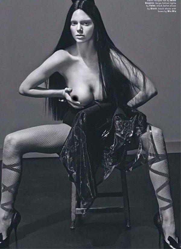 雖說「解放乳頭」是近來時尚圈很流行的運動,但雜誌編輯還是讓坎達爾珍娜的照片經過一...
