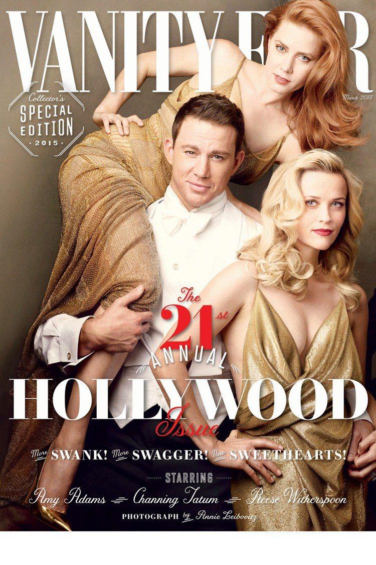 《浮華世界》(Vanity Fair)雜誌,請來一票好萊塢 A 咖明星拍封面,豪...