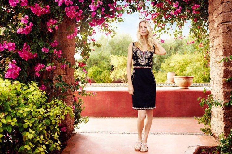 英國服飾品牌 Monsoon 看上Poppy Delevingne的時尚魅力,奉...