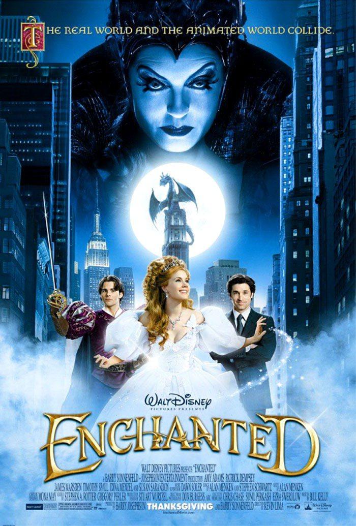 曼哈頓奇緣》一片集合了白雪公主、睡美人等迪士尼動畫故事,公主的造型也擁有纖腰。圖...