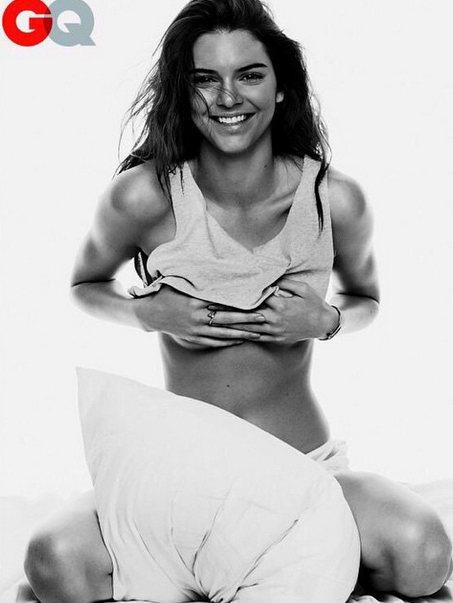 超模坎達爾珍娜日前追隨姊姊金卡戴珊的腳步,為 GQ雜誌拍攝火辣攝影。圖/擷自in...