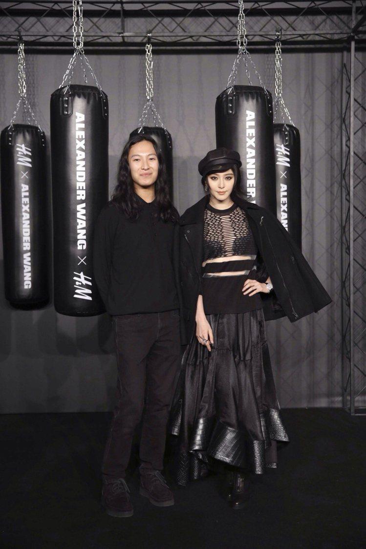 王大仁榮登TIME百大影響人士,圖為他與范冰冰出席他為H&M合作聯名系列...