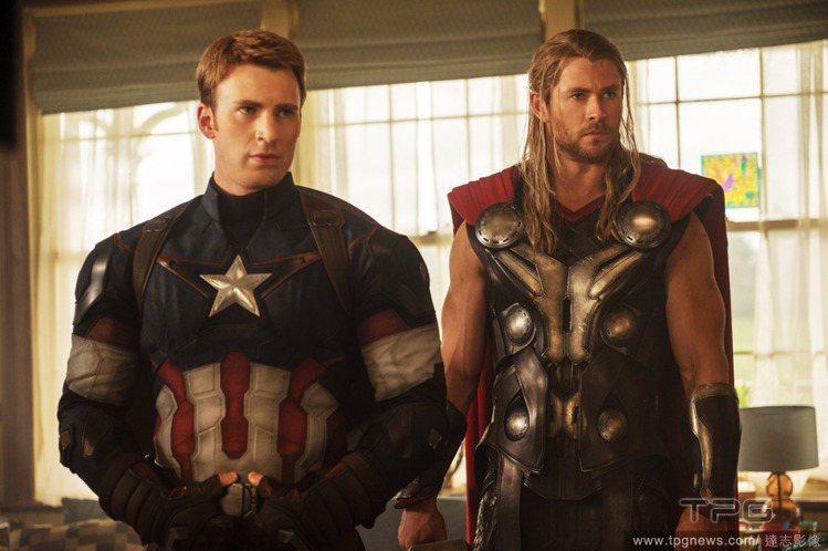 克里斯伊凡表示,美國隊長在多部電影裡看起來對戀愛興趣缺缺。圖/達志影像