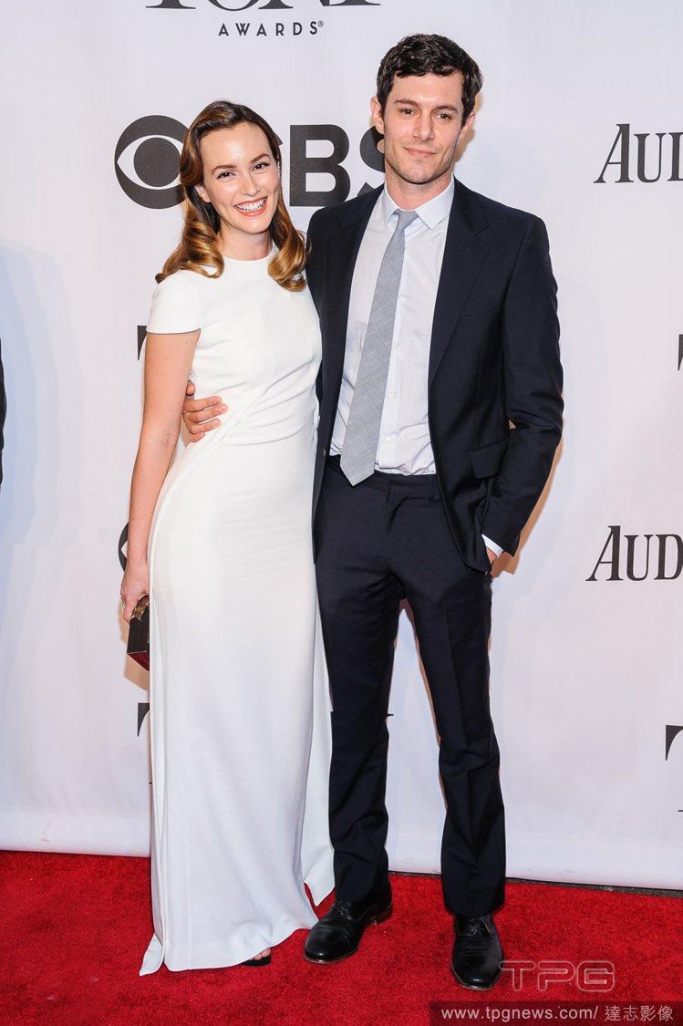 萊頓明斯特和亞當布洛迪在 2014 年秘密完婚。圖/達志影像
