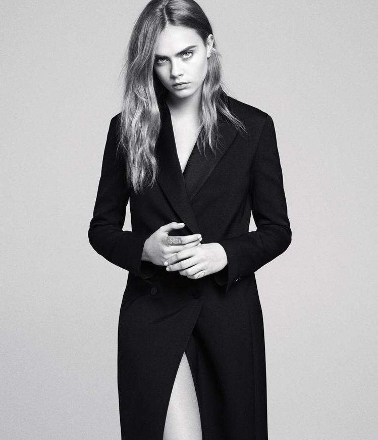 搞怪超模卡拉迪樂芬妮覺得「模特兒一定要瘦」這種價值觀讓她壓力非常大。圖/擷自ws...
