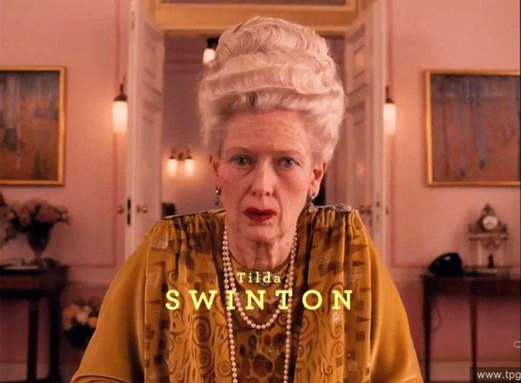 蒂妲史雲頓在《歡迎來到布達佩斯大飯店》中早已演過80幾歲的老人角色。圖/達志影像