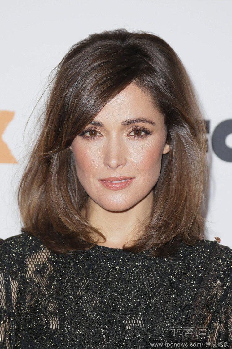 蘿絲拜恩樂於嘗試各種髮型,而且變化速度比時尚潮流還快。圖/達志影像