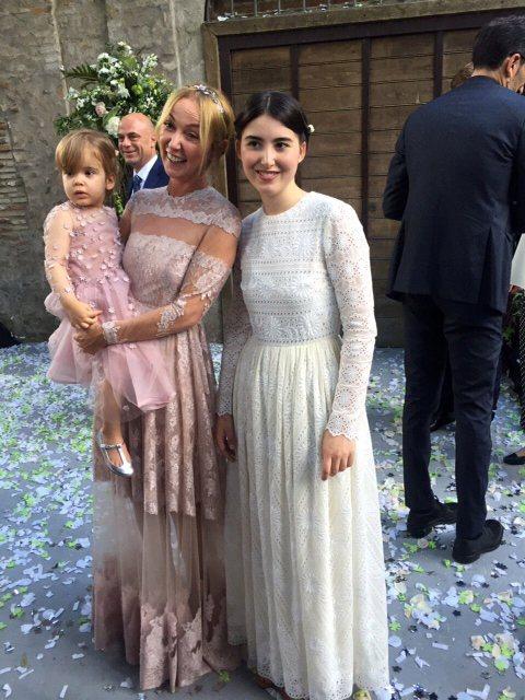 前GUCCI設計總監Frida Giannini專心當新娘 穿Valentin...