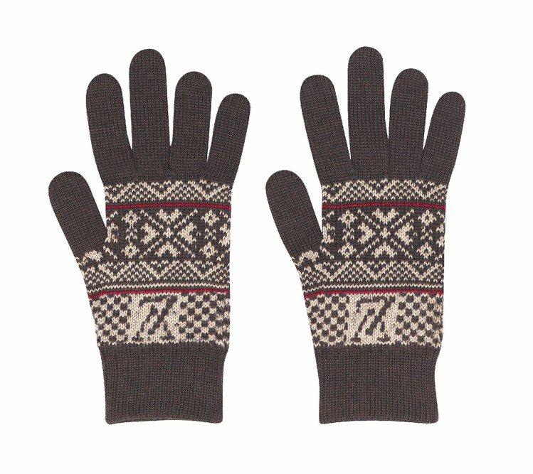 LV FLOCON DAMIER手套,9,250元。圖/LV提供