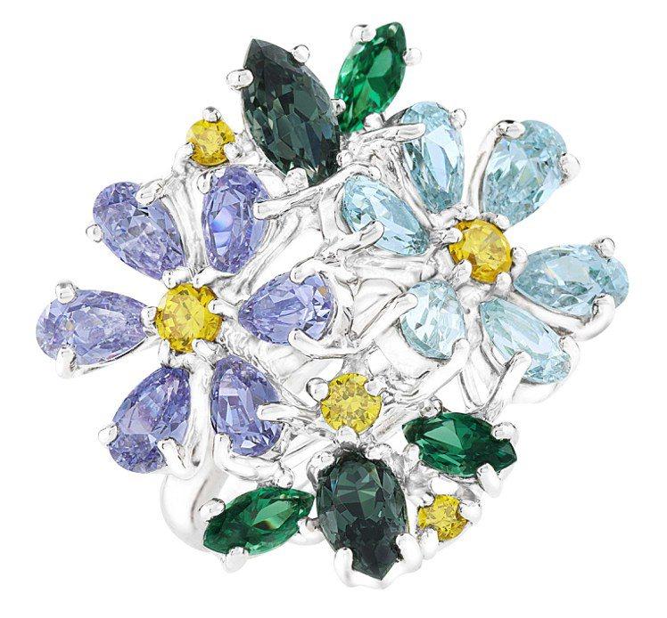 ARTE薰衣草晶鑽戒指,7,500元。圖/迪生提供