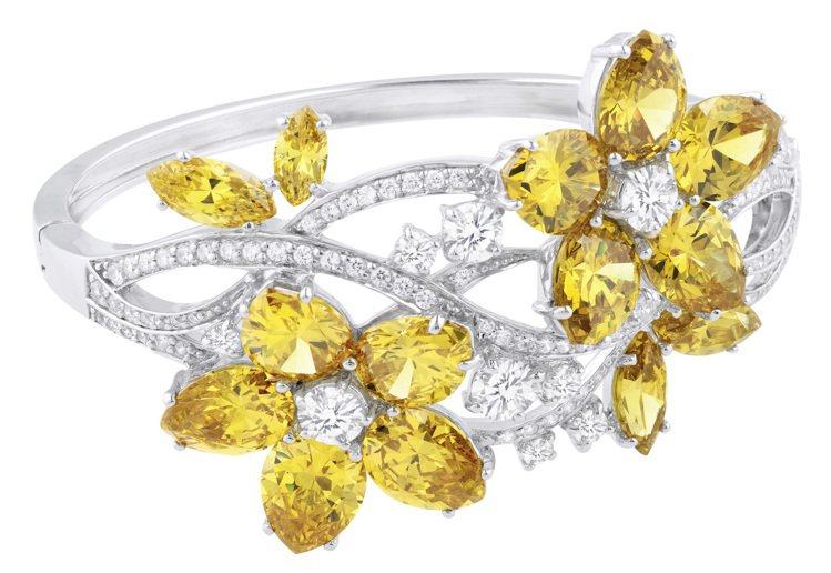 ARTE蓮花晶鑽手環, 27,800元。圖/迪生提供