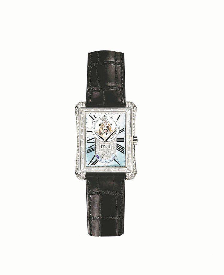 Piaget Emperador 陀飛輪腕表,售價1,213萬9,000元。圖/...