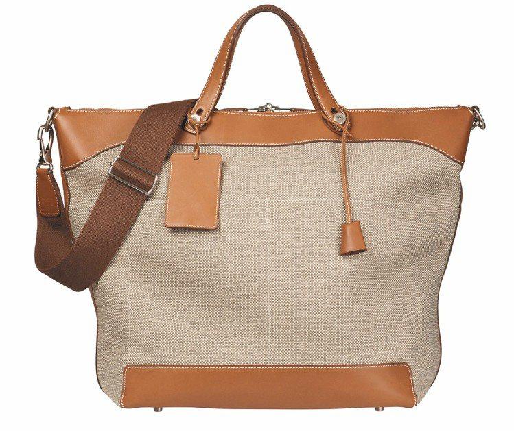 帆布手提旅行袋,22萬1,200元。圖/HERMES提供