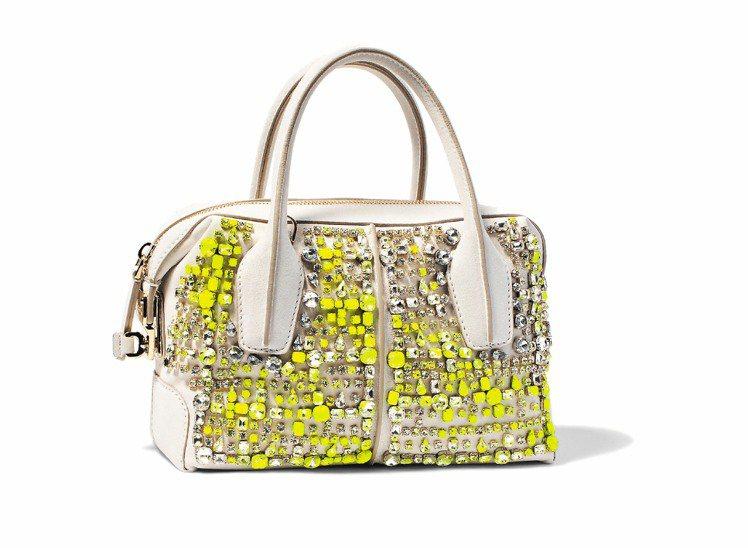 TOD'S施華洛世奇水晶D Bag,85,000元。圖/迪生提供