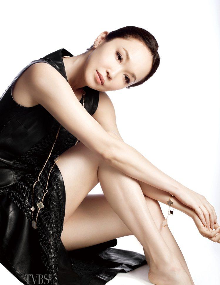 結婚三年還能如此甜蜜,范文芳透露,在老公面前一定要當個聰明的女人。圖/TVBS周...