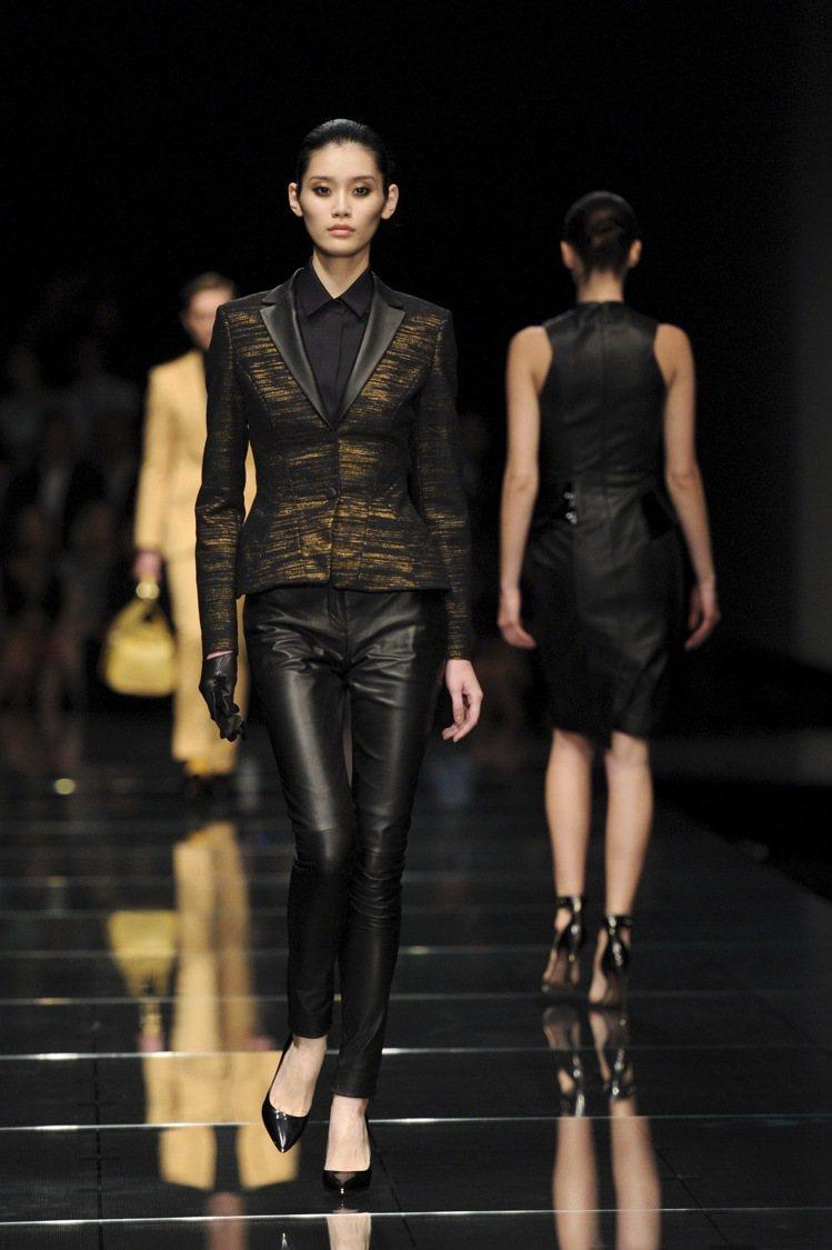 BOSS 2013冬季上海時裝秀。圖/HUGO BOSS提供