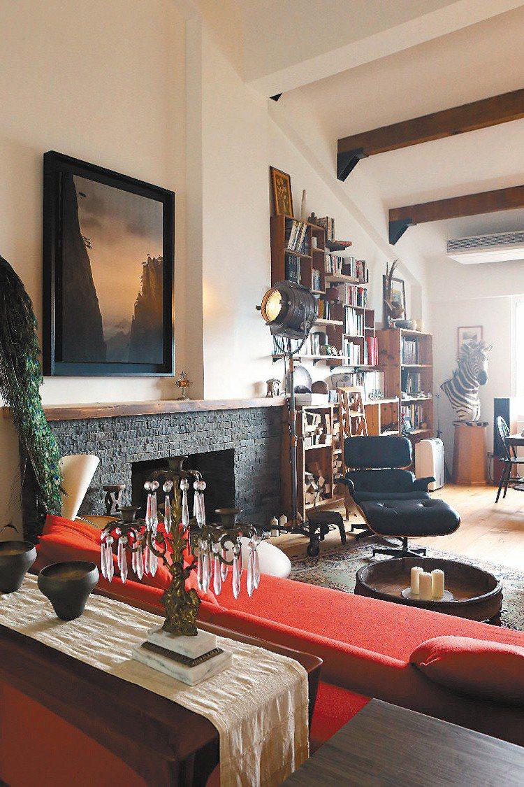 想與家人同住,柯耀宗刻意在山區,買了大房子。記者陳立凱/攝影