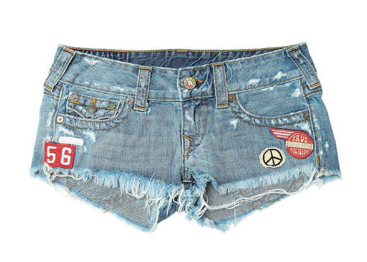 On The Road系列女裝熱褲,售價10,700元。圖/TRUE RELIG...