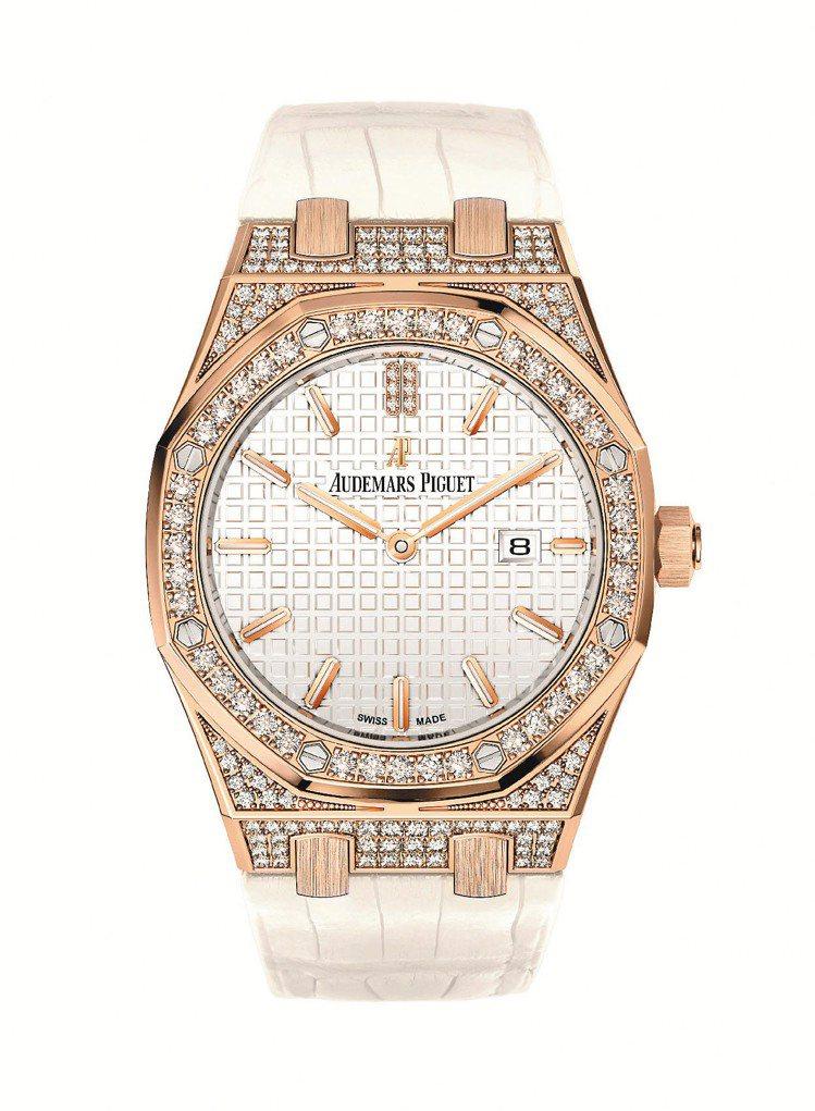 愛彼皇家橡樹33毫米石英腕表,101萬8,000元。圖/愛彼提供