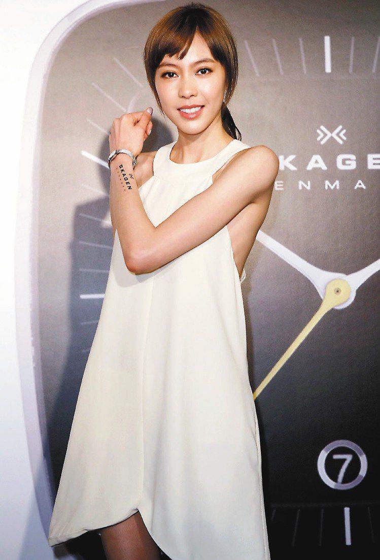 美聲歌姬Olivia擔任SKAGEN活動嘉賓。圖/台灣富思提供