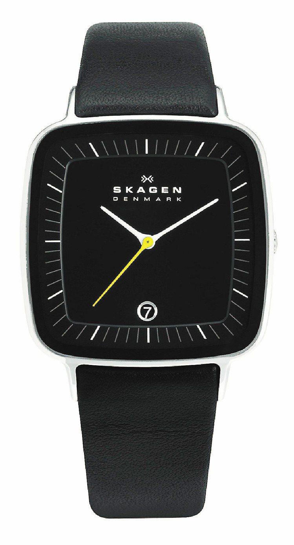 日本設計師紺野弘通為SKAGEN設計的表款獲今年紅點設計獎。圖/台灣富思提供