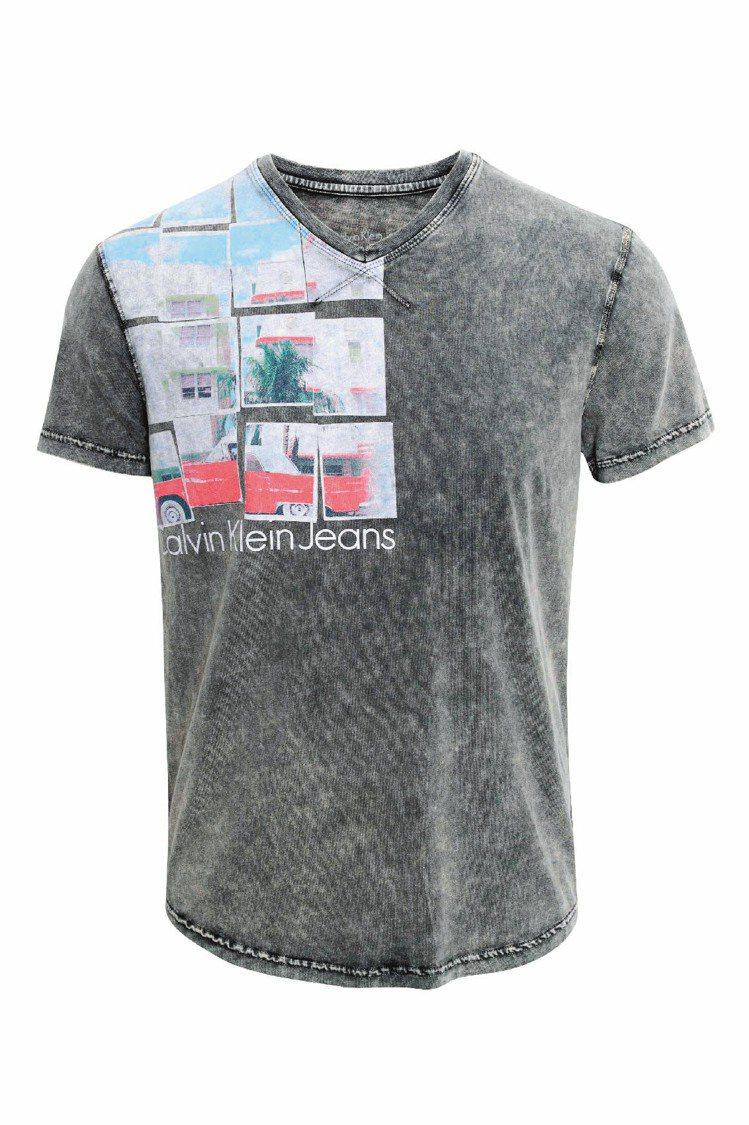 Calvin Klein Jeans照片T恤,1980元。圖/ck提供