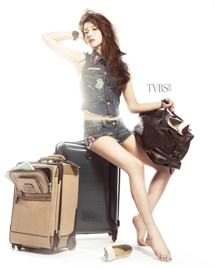 大膽宣布自己成為女星中成功凍卵的第一人,蔡淑臻受到各方關注。圖/TVBS周刊