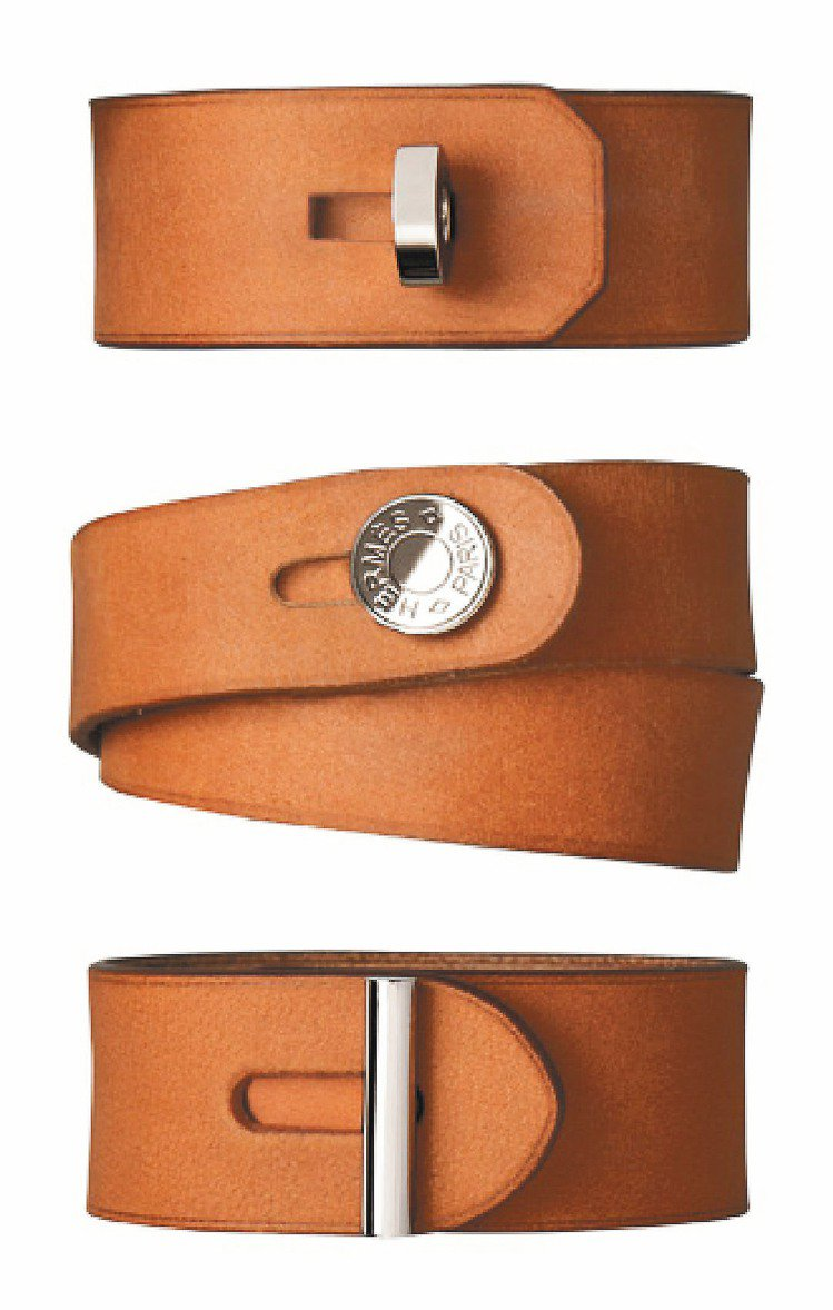愛馬仕皮手環,13,500元。圖/HERMES提供
