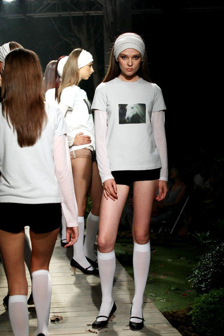 陳季敏與郭英聲合作,推出Lilion影像的服裝作品。圖/陳季敏提供