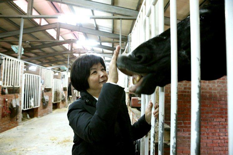 陳季敏與Lilion的情感深厚。記者陳立凱/攝影