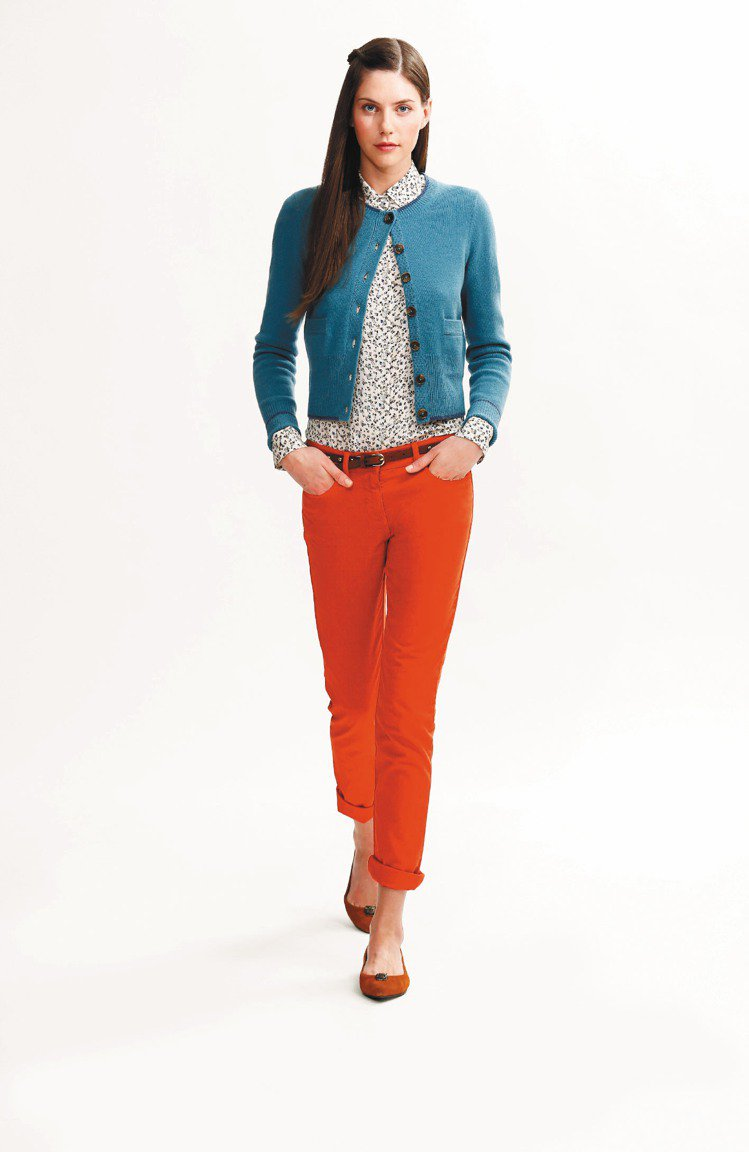 Brooks Brothers以對比色詮釋青春時尚。圖/迪生提供