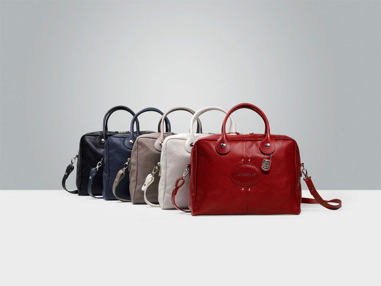 Longchamp Quadri包兼具都會與俏皮風格。圖/Longchamp提供